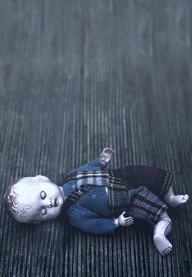 Wooden Floors Photograph - Broken Doll by Joana Kruse