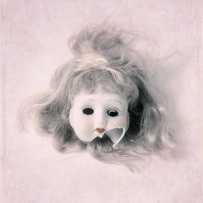 Broken Head Art Print by Joana Kruse