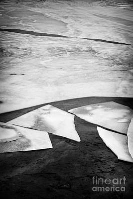 Broken Photograph - Broken Ice by Elena Elisseeva