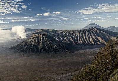 Bromo Mountain Art Print