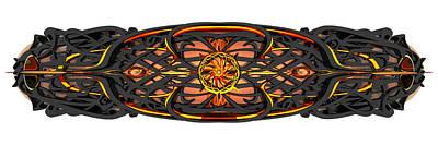 Digital Art - Bronze Deck by Zac AlleyWalker Lowing