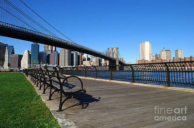 Brooklyn Bridge 5 Art Print