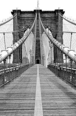 Photograph - Brooklyn Bridge by Al Hurley