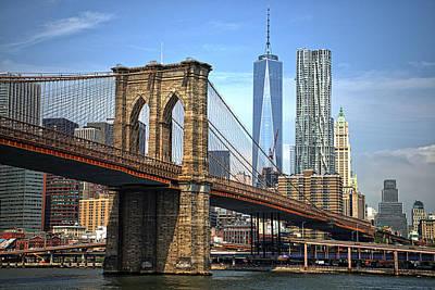 Target Threshold Nature - Brooklyn Bridge by Prince Andre Faubert