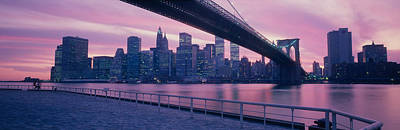 Color Guard Photograph - Brooklyn Bridge New York Ny by Panoramic Images