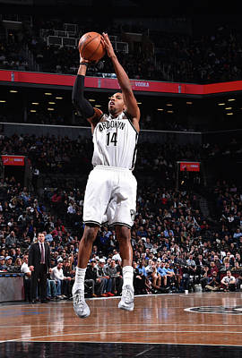 Photograph - Brooklyn Nets V Memphis Grizzlies by Jesse D. Garrabrant