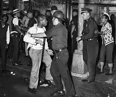 Brooklyn Riots, 1964 Art Print by Granger