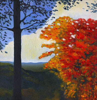 Peeper Painting - Brown County Indiana by Katherine Miller