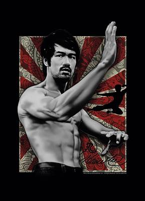 Bruce Lee Digital Art - Bruce Lee - Concentrate by Brand A