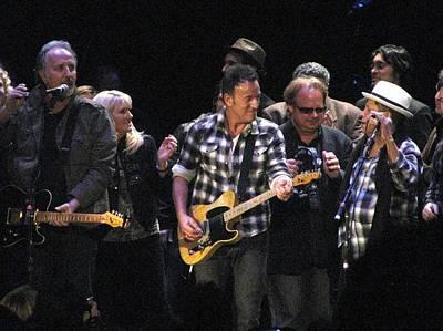 The Paramount Theatre Photograph - Bruce Springsteen by Melinda Saminski