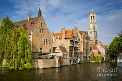 Photograph - Bruges Canals by Brian Jannsen