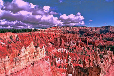 Photograph - Bryce Canyon 4 - Sunset Point by Allen Beatty