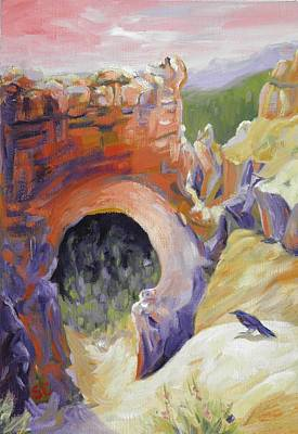 Painting - Bryce Canyon Arch Utah by Sharon Casavant