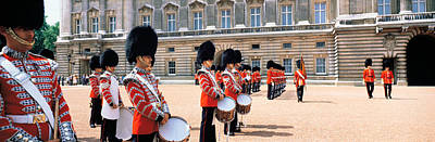 Marching Band Photograph - Buckingham Palace London England by Panoramic Images
