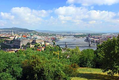 Buda Photograph - Budapest, Hungary, Scenic View by Miva Stock