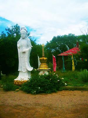 Quan Yin Photograph   Buddha Garden By Seay Harshaw Delgado