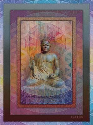 Buddha Art Print by Richard Laeton