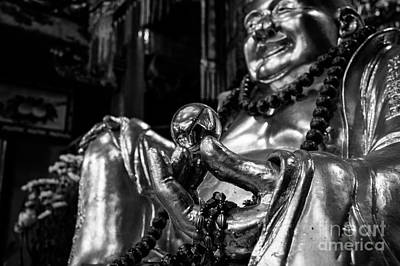 Buddha Photograph - Buddha's Pearl Of Wisdom by Dean Harte