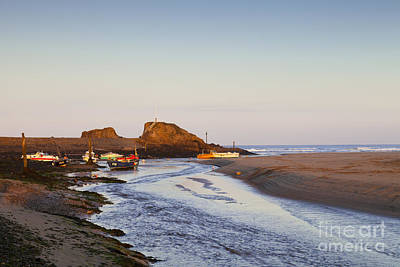 Bude Cornwall England Summerleaze Beach Art Print by Colin and Linda McKie