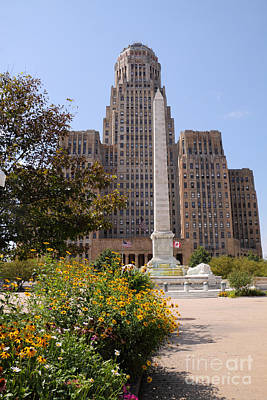 Photograph - Buffalo City Hall by Charline Xia