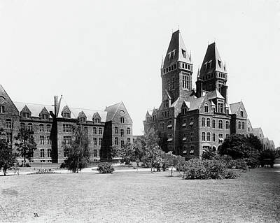 Photograph - Buffalo State Hospital by Granger