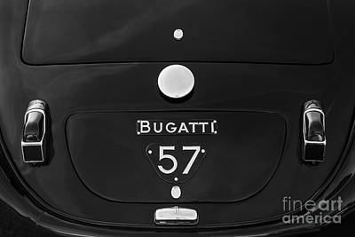 Comedian Drawings Rights Managed Images - Bugatti Type 57 Royalty-Free Image by Dennis Hedberg