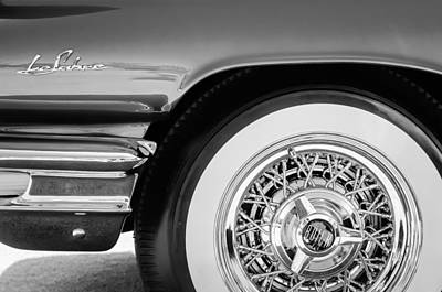 Photograph - Buick Lesabre Wheel Emblem by Jill Reger