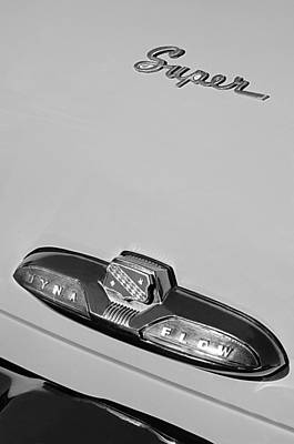 Photograph - Buick Super Dina Flow Emblem by Jill Reger