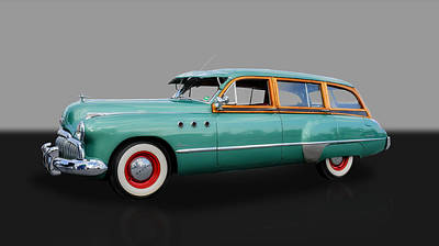 Photograph - Buick Super Woody - 1949 by Frank J Benz