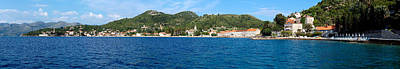 Buildings At The Waterfront, Adriatic Art Print by Panoramic Images