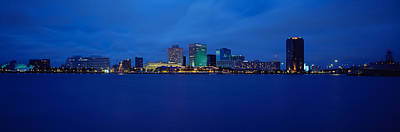 Norfolk Virginia Photograph - Buildings At The Waterfront, Norfolk by Panoramic Images