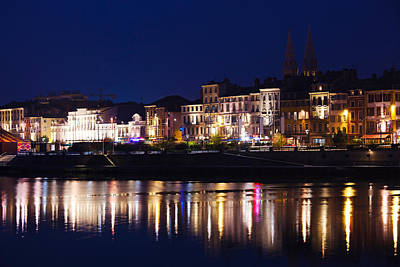 Saone River Photograph - Buildings At The Waterfront, Quai by Panoramic Images