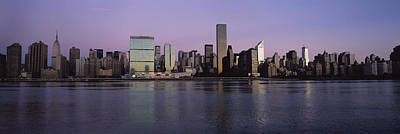 Buildings At The Waterfront Viewed Art Print by Panoramic Images