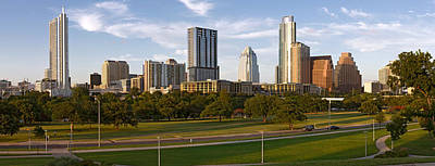 Austin Building Photograph - Buildings In A City, Austin, Travis by Panoramic Images