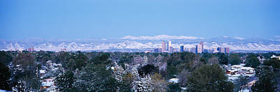 Buildings In A City, Denver, Colorado Print by Panoramic Images