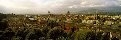 Buildings In A City, Florence, Tuscany Art Print by Panoramic Images