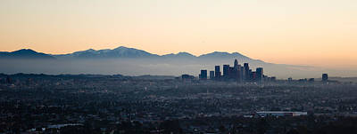 Buildings In A City, Los Angeles Art Print by Panoramic Images