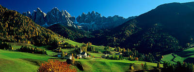 Maddalena Photograph - Buildings On A Landscape, Dolomites by Panoramic Images
