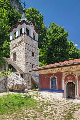 Eastern Orthodox Wall Art - Photograph - Bulgaria, Central Mountains, Veliko by Walter Bibikow