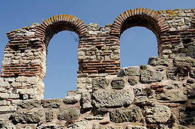 Byzantine Photograph - Bulgaria, Nessebur (aka Nessebar by Cindy Miller Hopkins