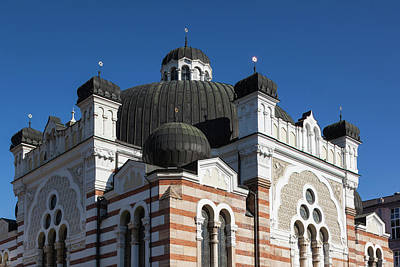 Sofia Photograph - Bulgaria, Sofia, Sofia Synagogue, Built by Walter Bibikow
