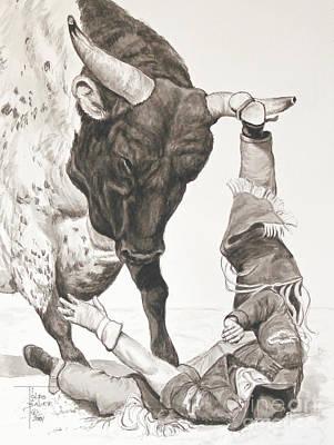Bull Power Art Print