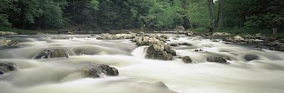 Housatonic River Photograph - Bulls Bridge, Housatonic River by Panoramic Images