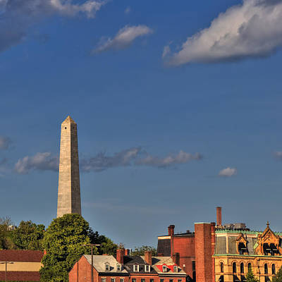 Photograph - Bunker Hill Monument - Boston by Joann Vitali