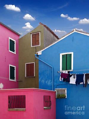Photograph - Burano 10 by Giorgio Darrigo