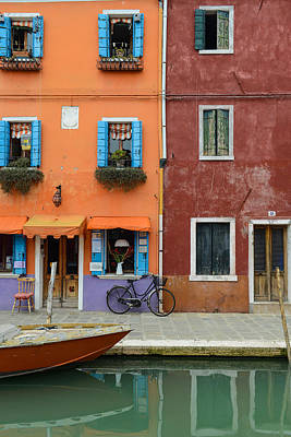 Photograph - Burano Italy by Brandon Bourdages