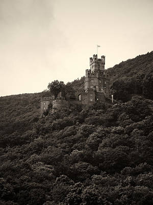 Burg Sooneck Am Rhine Art Print by Jouko Lehto