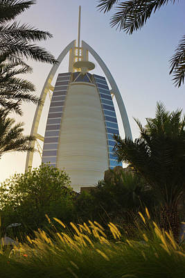 Burj Al Arab Hotel, Famous Building Art Print