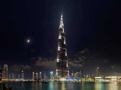 Spiral Photograph - Burj Khalifa Skyscraper by Babak Tafreshi
