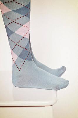 Foot Stool Photograph - Burlington Socks by Joana Kruse